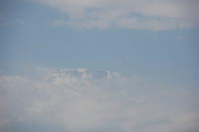Day 103 - 17.07.2011  Snow at Mount Kilimanjaro