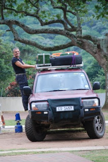 Fred with our first Pajero